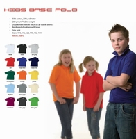 Kids Basic Polo Uniwear